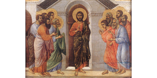 Duccio di Buoninsegna - Appearance Behind Locked Doors