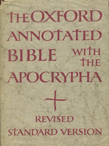 Holy Scripture, revised standard version