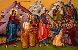 Feeding of Five Thousand Icon