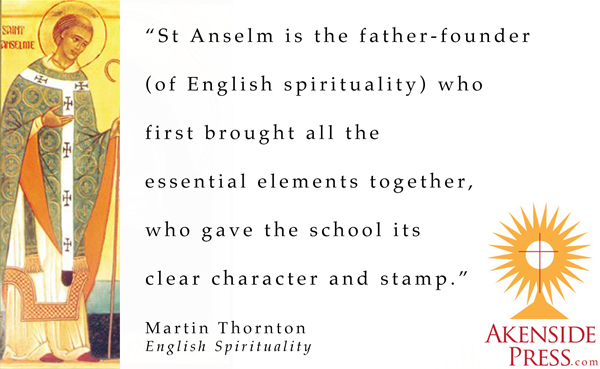 Martin Thornton on St Anselm